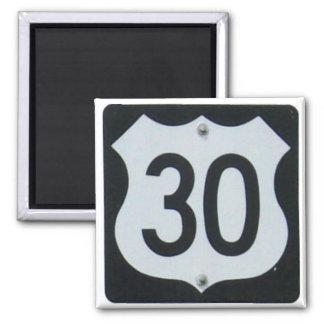 US Highway 30 Sign Magnet
