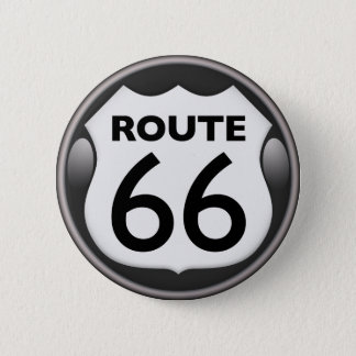 US Historic Route 66 Button