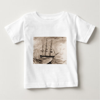 US Historic ship Independence 1815 Baby T-Shirt