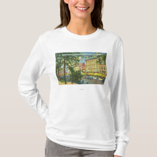US Hotel Porch View of Main Street T-Shirt