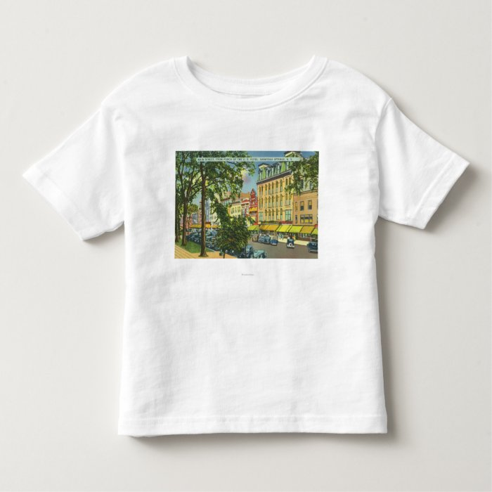 US Hotel Porch View of Main Street Toddler T-shirt