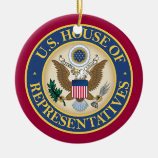 US House of Representatives Christmas Ornament