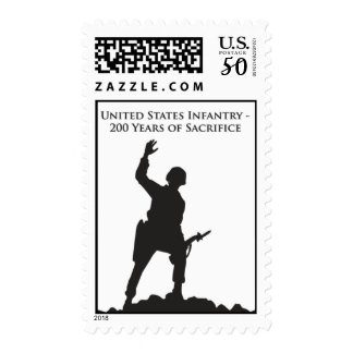 US Infantry Commemorative Stamp 1