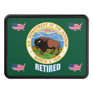 US Interior Department Retired Trailer Hitch Cover