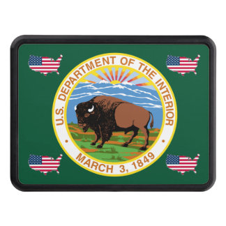 US Interior Department Trailer Hitch Cover