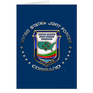 US Joint Forces Command Card
