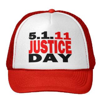 US JUSTICE DAY 5/1/2011 - bin Laden Dead Mesh Hat