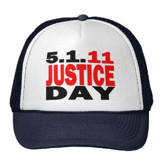 US JUSTICE DAY 5 1 2011 - bin Laden Dead Trucker Hats