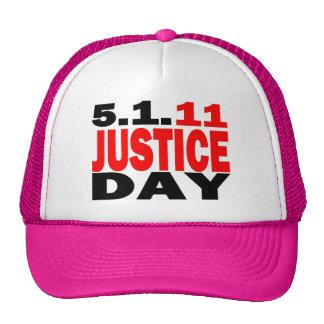 US JUSTICE DAY 5 1 2011 - bin Laden Dead Hats