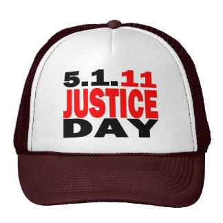 US JUSTICE DAY 5 1 2011 - bin Laden Dead Mesh Hats