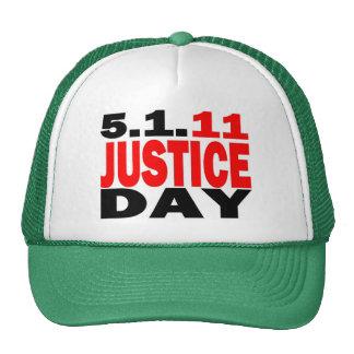 US JUSTICE DAY 5 1 2011 - bin Laden Dead Trucker Hat