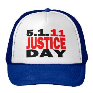 US JUSTICE DAY 5 1 2011 - bin Laden Dead Hat