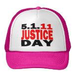 US JUSTICE DAY 5/1/2011 - bin Laden Dead Hats