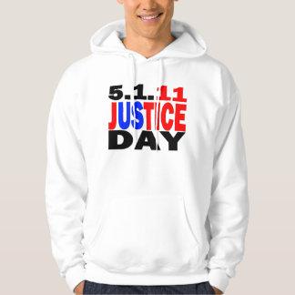 US JUSTICE DAY 5/1/2011 - bin Laden Dead Hoodie