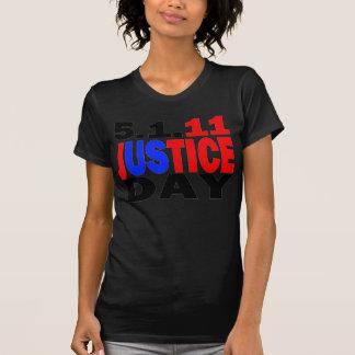 US JUSTICE DAY 5/1/2011 - bin Laden Dead Tee Shirt