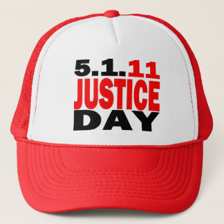 US JUSTICE DAY 5/1/2011 - bin Laden Dead Trucker Hat