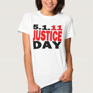 US JUSTICE DAY 5/1/2011 - bin Laden Dead Tshirts