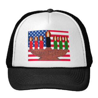us kwanzaa trucker hats