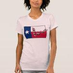 US love houston texas strong flag hurricane harvey T-Shirt