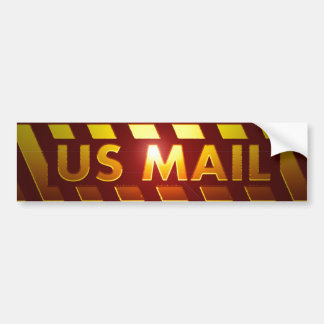 US MAIL BUMPER STICKER