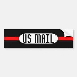 US MAIL bumper sticker Car Bumper Sticker