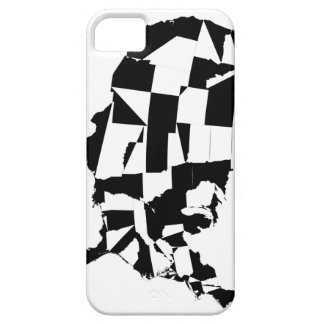 US Map B&W iPhone Case iPhone 5 Covers