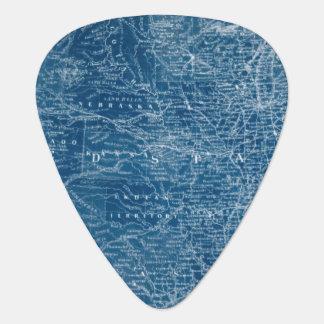 Blueprint Guitar Picks Accessories Zazzle - Us map blueprint