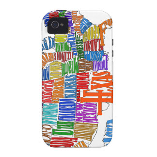 US MAP iPhone 4/4S COVERS
