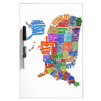 US MAP DRY ERASE BOARD