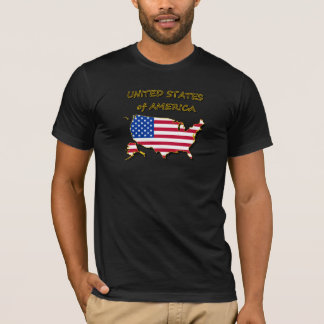 US Map & Flag T-Shirt