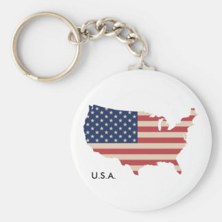 US map Keychain KeyHolder