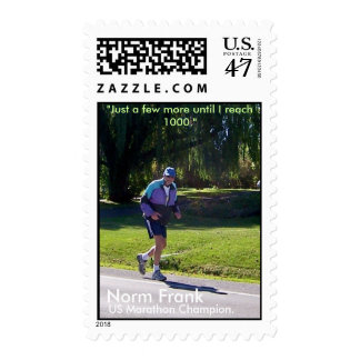 US Marathon Champion Postage