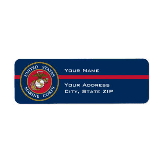 US Marine Corps - Blue Label