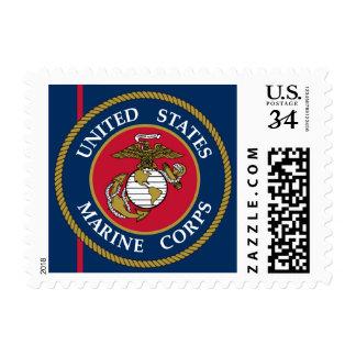 US Marine Corps - Blue Postage