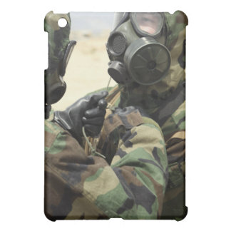 US Marine Corps reservists in camouflage iPad Mini Cover