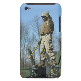US Marine Corps Sergeant gives the thumbs up iPod Touch Case-Mate Case