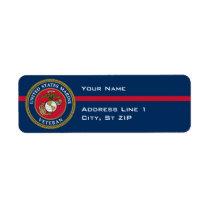 US Marine Corps - Veteran Blue Label