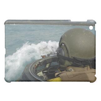US Marine driving an amphibious assault vehicle Case For The iPad Mini
