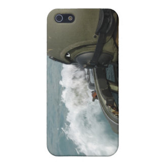 US Marine driving an amphibious assault vehicle Cover For iPhone SE/5/5s