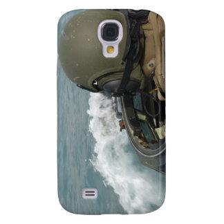 US Marine driving an amphibious assault vehicle Galaxy S4 Cover