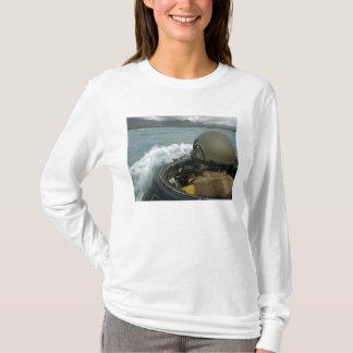 US Marine driving an amphibious assault vehicle T-Shirt