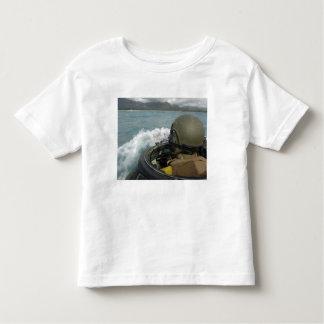 US Marine driving an amphibious assault vehicle Toddler T-shirt