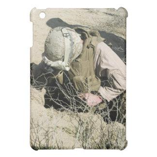 US Marine jumps down a hole iPad Mini Covers
