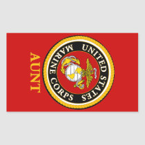 US Marine Official Seal - Aunt