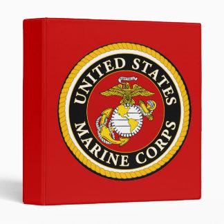 US Marine Official Seal Vinyl Binder
