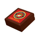 US Marine Official Seal - Grandpa Trinket Boxes