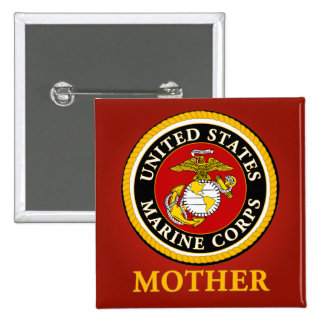 US Marine Official Seal - Mother Pin