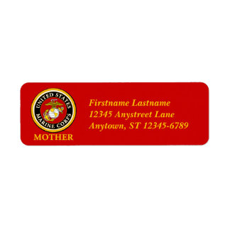 US Marine Official Seal - Mother Label
