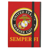US Marine Official Seal - Semper Fi Cover For iPad Air