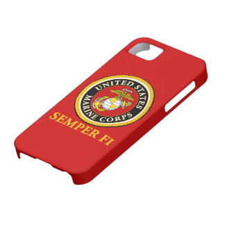 US Marine Official Seal - Semper Fi iPhone 5 Cases